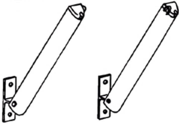 Stützarme Omnistor W150, Satz links und rechts