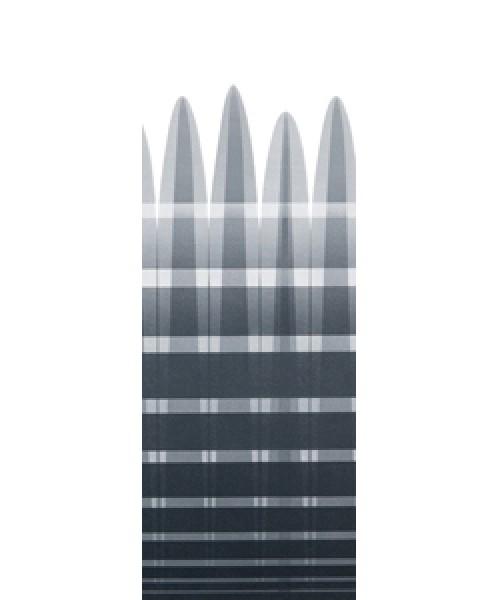 Tuch Thule Omnistor Markise 5002 - Tuch 4,00 x 2,50m Alaska-Grau