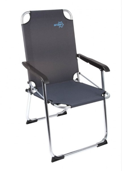 alu camping klappstuhl schwarz online kaufen. Black Bedroom Furniture Sets. Home Design Ideas