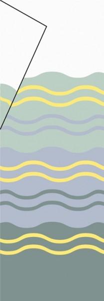 Tuch Thule|Omnistor 8000 - Tuch 5,50 x 2,75m Miami-Grau