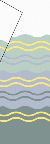 Tuch Thule|Omnistor W150 - Tuch 2,85 x 0,50m Transparent Thule|Omnistor W150