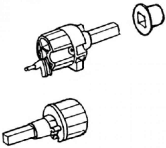Tuchrollenendkappen Thule|Omnistor 6002 - Tuchrollenendkappe links Omnistor 6002 12V