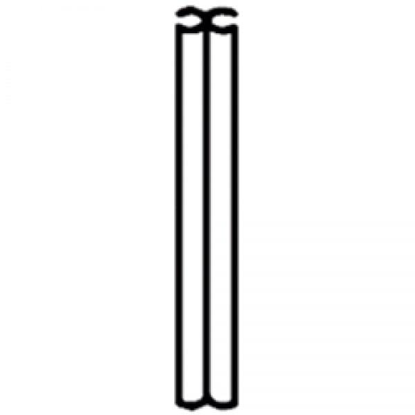 Doppelkederprofil, 1m