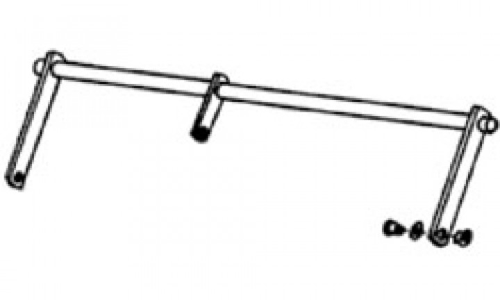 Rahmenverbindung Omnistep 12V single 57