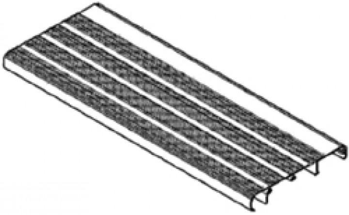 Trittbrett Omnistep komplett 12V 550 alu / manual 550 alu
