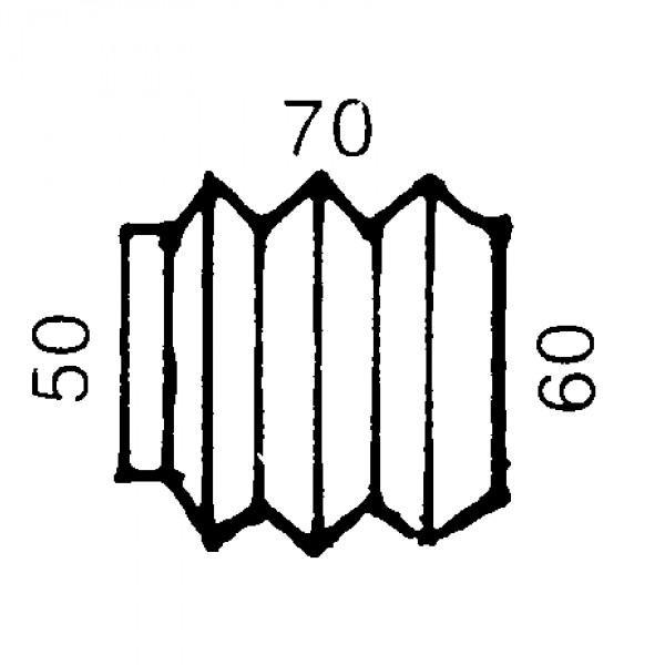 AL-KO Faltenbalg 70/60 mm für Auflaufbremse