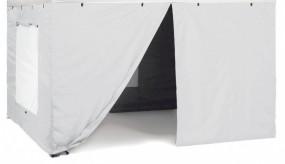 Brunner Seitenteilset für Faltpavillon Zebò Classic Alu/Hybrid, 3 x 4,5 m, blau