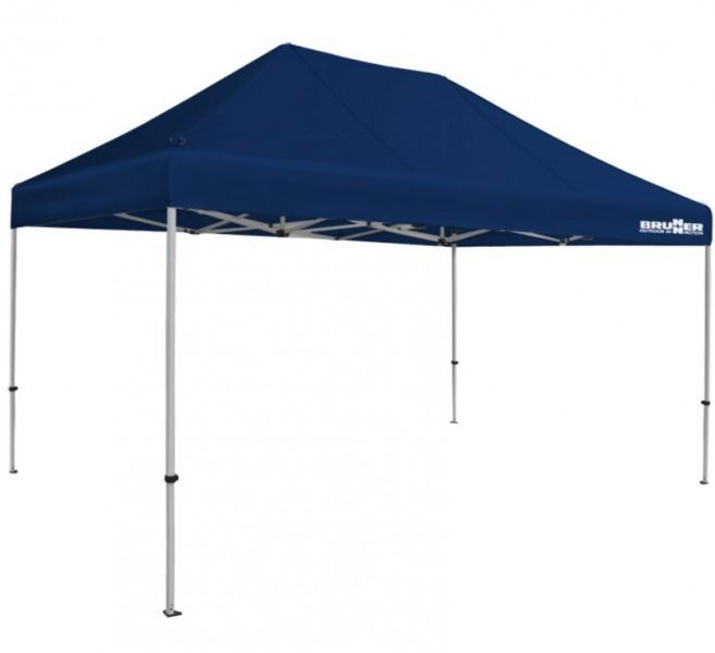Brunner Faltpavillon Zebò Classic Alu/Hybrid 3 x 4,5 m blau