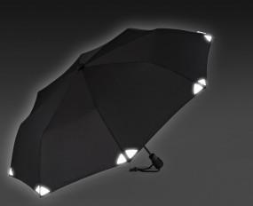 EuroSchirm 'light trek automatic' schwarz, reflective