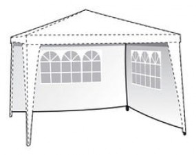 Seitenwände für Gartenpavillon Sprint mit Fenster