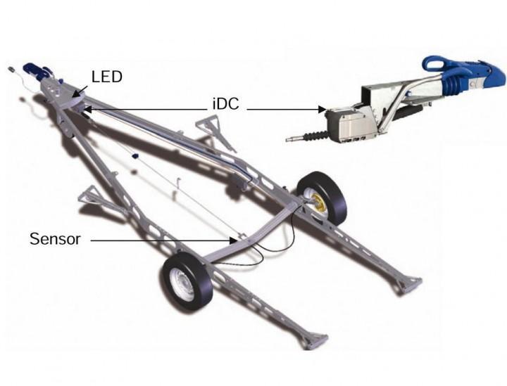 Intelligent Drive Control IDC Einachser 1001-1500 kg Leergewicht 750 kg