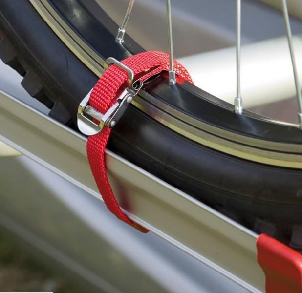 Gurte für Fiamma Carry-Bike Fahrradträger rot