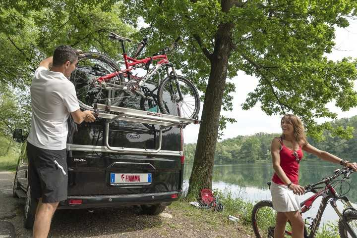 Fiamma Carry-Bike Ford Custom für Campingbusse