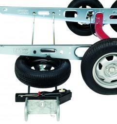 ALKO-Ersatzradhalter - EH 1 / B 1250-1550 mm
