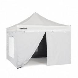 Seitenteilset für Faltpavillon Zebò Classic Alu/Hybrid 3 x 6 m weiß
