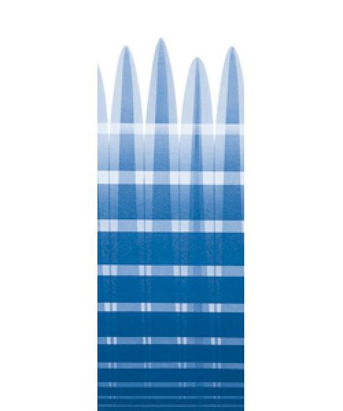 Thule Omnistor 5003 Gehäuse eloxiert 4,50 x 2,50m Blue-Sky