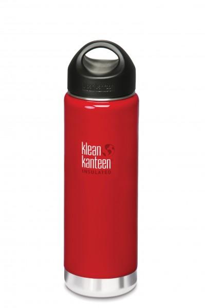 Klean Kanteen Flasche 'Insulated' rot, 0,592 L