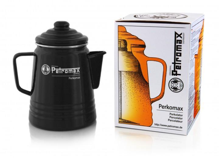 Petromax Emaille Kaffeekanne 1,5 Liter schwarz