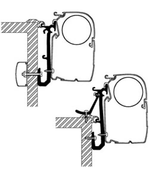 Thule Omnistor Caravan-Adapter