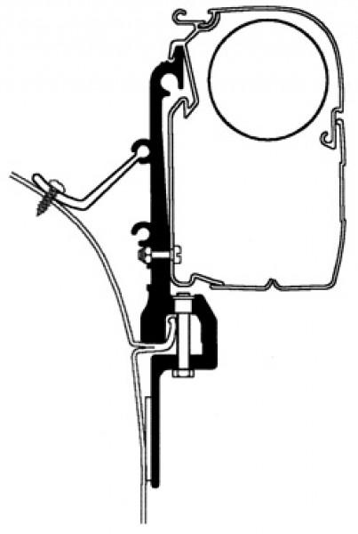 Thule Omnistor Van-Adapter
