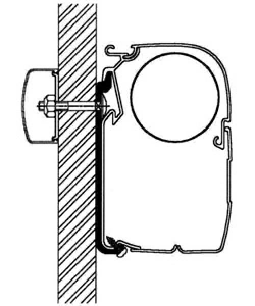 Thule Omnistor Flat-Adapter 40 cm 5 Stück
