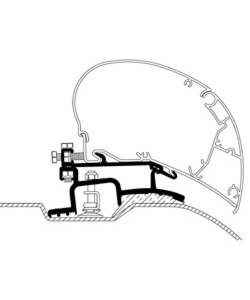 Adapter für Fiat Ducato ab Baujahr 07/2006 zu Thule|Omnistor Serie 6