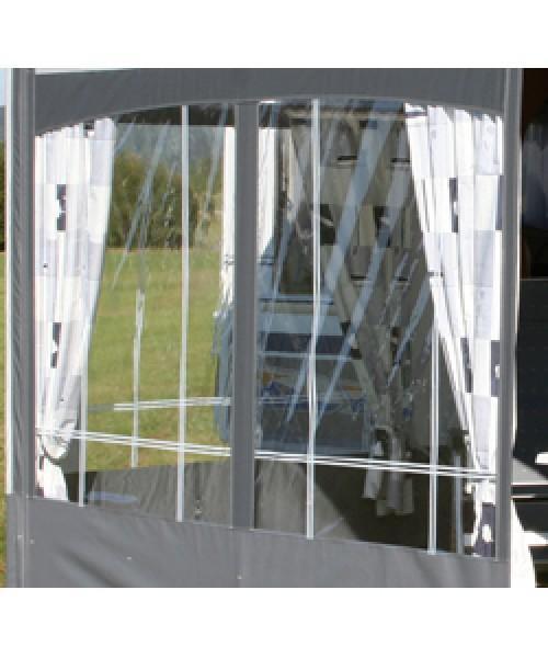 Vorhang für Rollmarkise Rolli Premium Markisenlänge 2,25 und 2,50 m