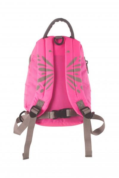 LittleLife Kleinkinder Rucksack Hi Vis pink 3 Liter