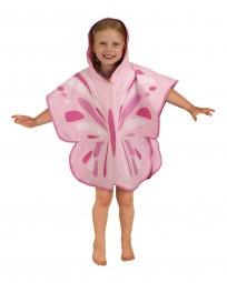 LittleLife Poncho-Handtuch Schmetterling