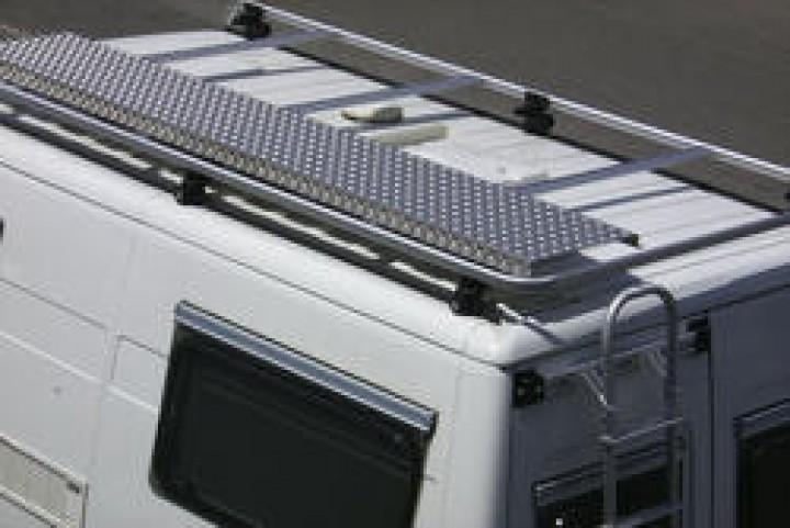 Begehplanke aus Aluminium für Euro Carry Reling