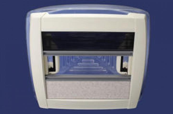MPK Dachhaube weiß 40 x 40 cm DS 42-70 mm