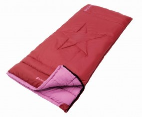 Outwell Schlafsack Cave Kids rot