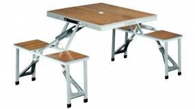 Outwell Picknick Garnitur 'Dawson' Tisch und 4 Sitzplätze