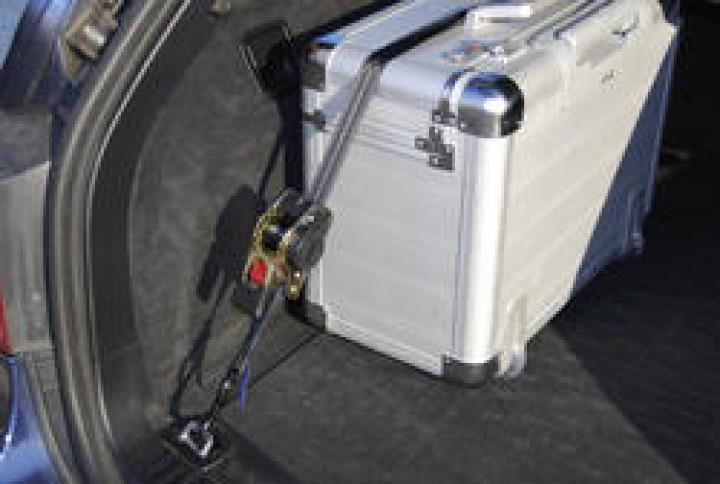 Zurrgurt Auto Cargo Belt schwarz 1,85 m
