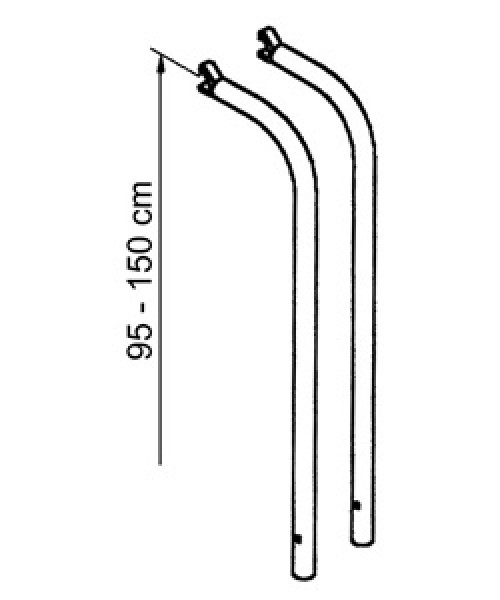 Thule Verlängerungsset für Fahrradträger Omnibike Lift
