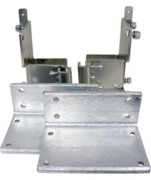 Universaladapter für Linnepe Autolift 2-er Set, hinten