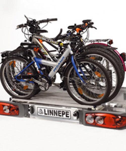 Linnepe Fahrradhalter Scout4Bike für Lastenträger Scout