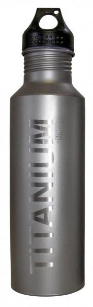 Vargo Titan Wasserflasche m. Kunststoff Deckel, 650 ml