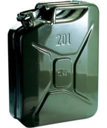 Benzinkanister 20 Liter aus Stahlblech