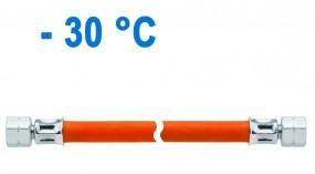Schlauchleitung Mitteldruck PS 10 bar 800 mm Überwurfmutter x Überwurfmutter