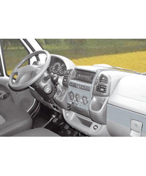 Armaturenbrett-Veredelung Aluminium für VW T5 Transporter