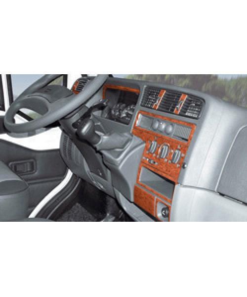 Armaturenbrett-Veredelung Wurzelholz für VW T4 ab Baujahr 06/1998