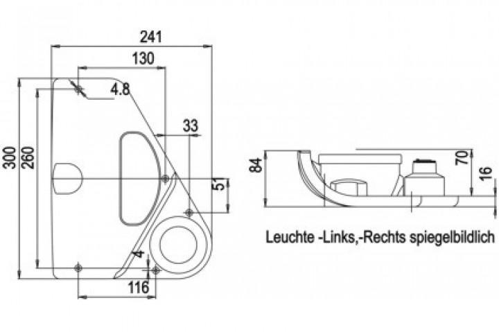 Rückfahrscheinwerfer für Wohnmobile