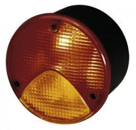 Hella-Einbauleuchte - Schluss-/Brems-/Blinklicht rot/orange