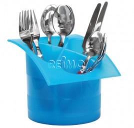 Bestecktrockner Kunststoff blau
