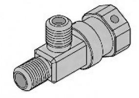 3-Wege-Adapter für TireMoni Checkair Überwachungssystem