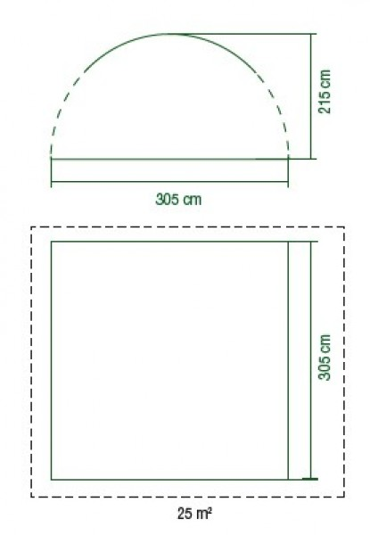 Coleman Event Shade 3 x 3 Meter