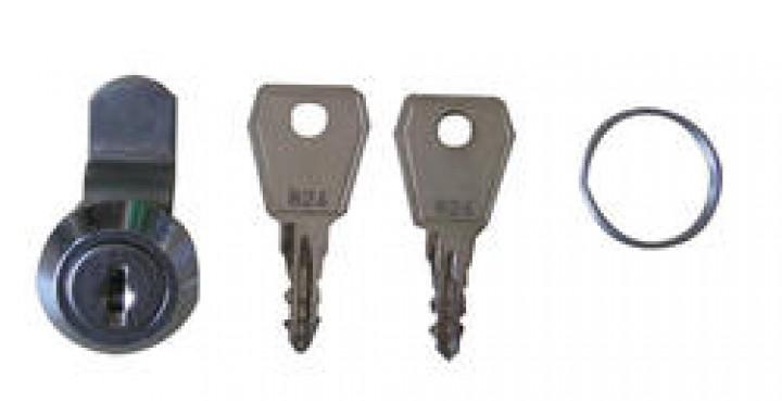 Schloss mit 2 Schlüsseln für Kama Versorgungsklappe