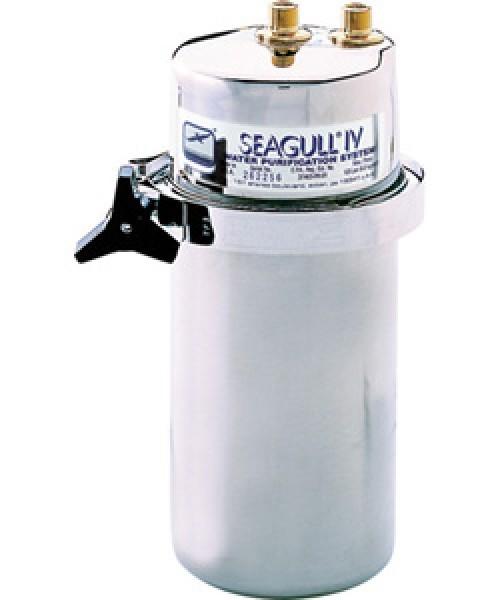 Untertisch-Filter Seagull IV 8000, Edelstahl, mit Armatur