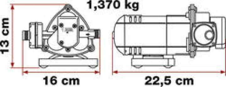 Wasserpumpe Fiamma Aqua 8 10l/min
